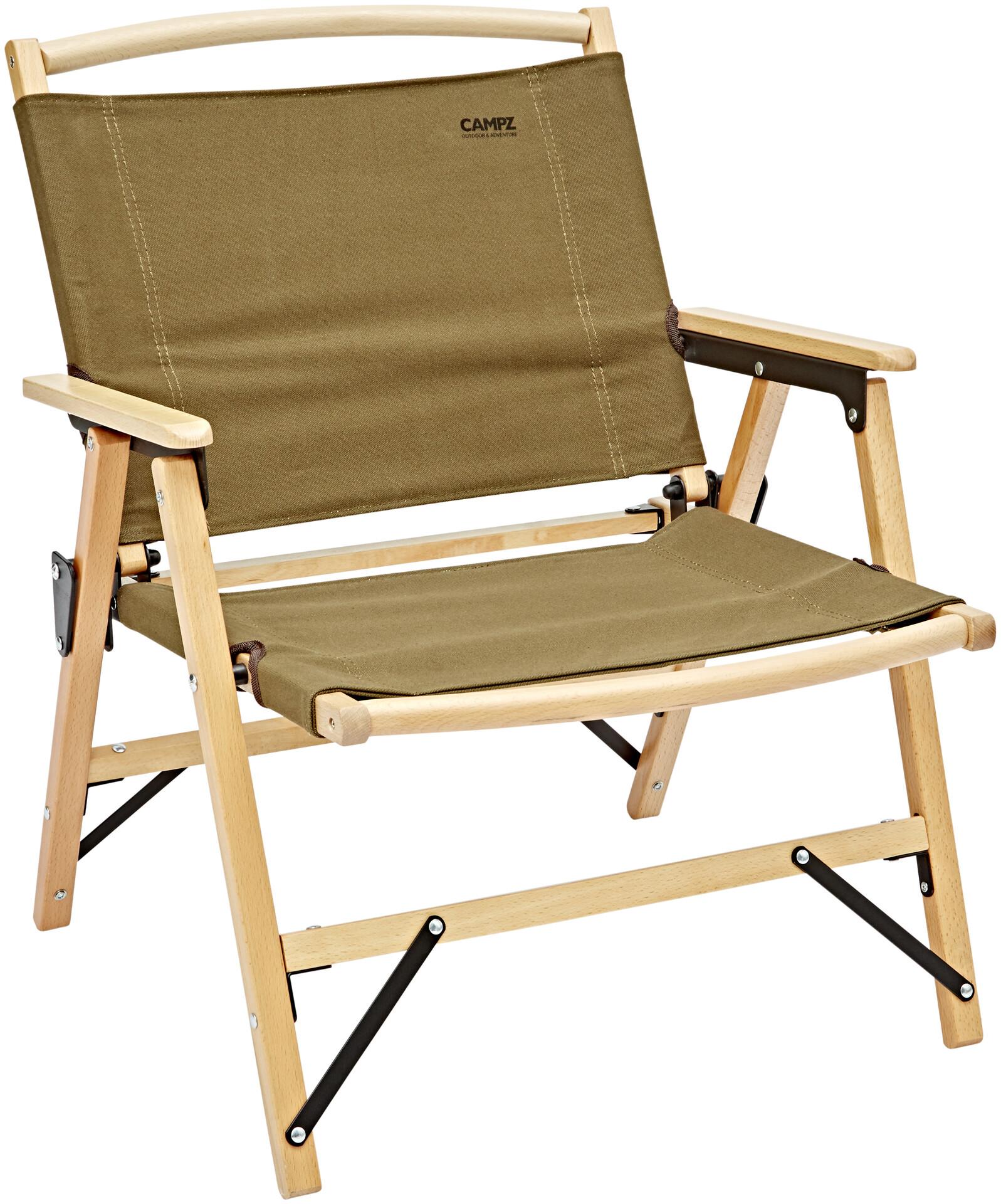 Campz WoodBrown Beech Comfort Foldable Chair nwX0OPk8